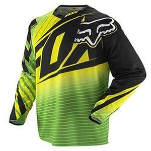 FOX 360 Enterprize MX Jersey vert/jaune (Taille cadre: XXL) Maillot