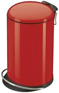 Hailo 0516-530 Design Tret-Abfallsammler TOPdesign 16, rot