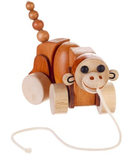Max the Monkey Pull Toys