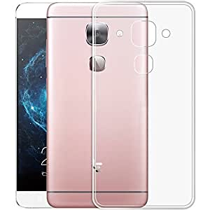 Dashmesh Shopping 0.3mm Ultra Thin Transparent Clear TPU Soft Back Case Cover For LeEco Le Max 2
