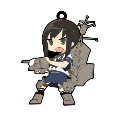 艦隊これくしょん 艦これ トレーディングラバーストラップ 【8.吹雪】(単品)