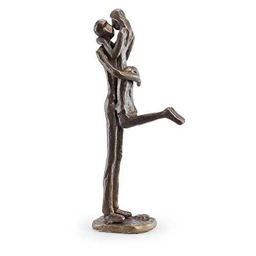 Danya B. Passionate Kiss Bronze Sculpture