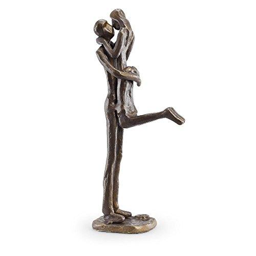 Danya B. Passionate Kiss Bronze Sculpture