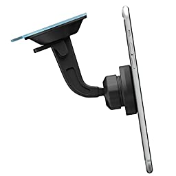 Car Mount, Mengo Magna-Snap Magnetic Dashboard Or Window Car Mount For iPhone, Samsung, HTC, LG, Nexus, Blu, GPS, and More
