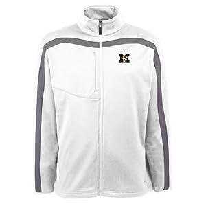 Missouri Tigers Jacket - NCAA Antigua Mens Viper Performance Jacket White by Antigua