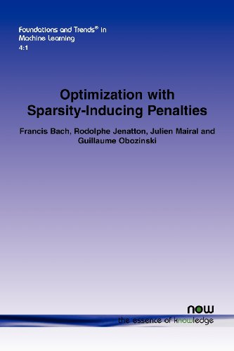 Optimization with Sparsity-Inducing Penalties (Foundations and Trends(r) in Machine Learning)