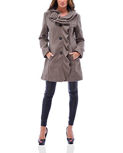 Coat special Abrigo Tango Taupe L