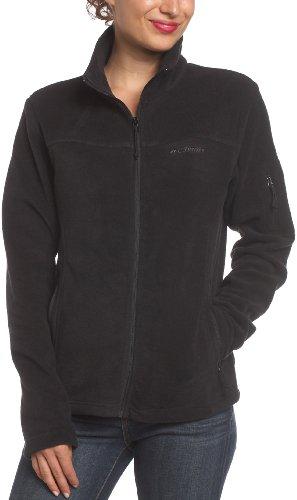 Columbia Sportswear Women's Fast Trek Fleece Jacket,Black,Large