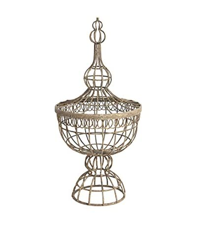 Wire Basket Finial