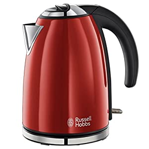 Russell Hobbs Flame Red Jug Kettle 1.7L (325242) from Russell Hobbs