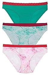 Organic Cotton Antimicrobial Bikini ( Pack of 3)