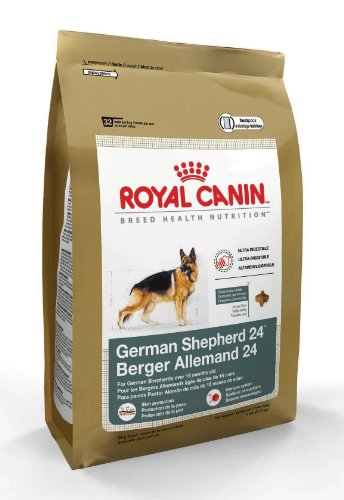 Royal Canin Dry Dog Food, German Shepherd 24 Formula, 33-Pound Bag