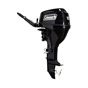 Coleman 15 hp outboard motor boat motors sale for 15 hp electric boat motor