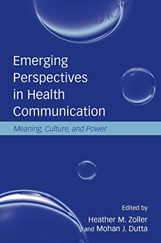 Emerging Perspectives In Health Communication: Meaning, Culture, And Power (Lea'S Communication) front-763084