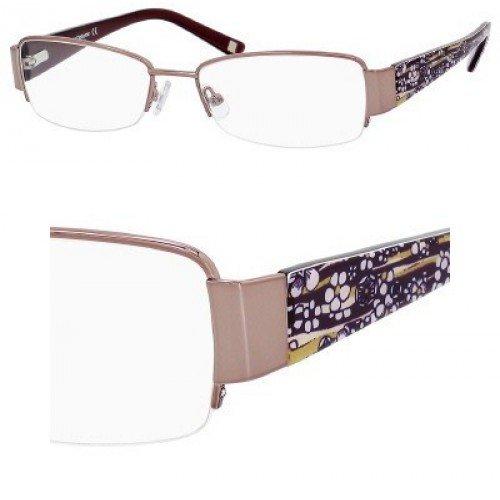 Liz Claiborne 387 Eyeglasses (0RC8) Almond Floral,