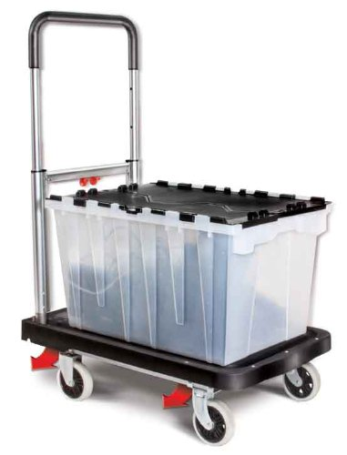 Magna Cart Flatform 300 lb Capacity Four Wheel Folding  Hand Truck (Wheels For A Cart compare prices)