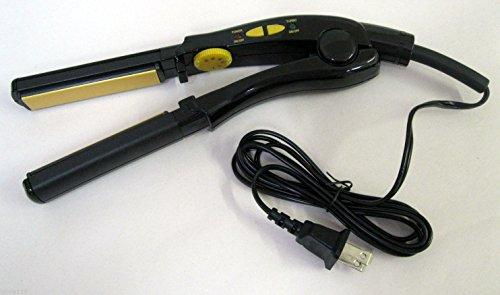 """Conair Instant Heat Ceramic 3/4"""" Flat Iron, Straightener, Dual Voltage, New front-620296"""
