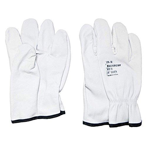 Elec. Glove Protector, 9-1/2, Cream, Pr Lpg10/9H