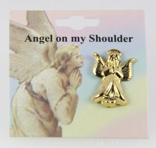 6030080 Guardian Angel Lapel Pin Brooch Tack