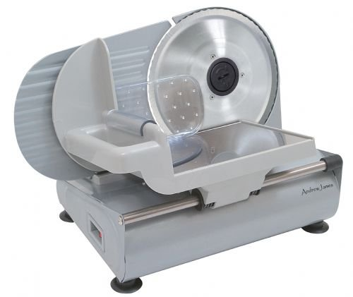 Andrew James Large Electric Precision Food Slicer - 22cm Blade