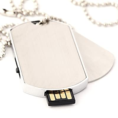 Dog Tags USB Memory Stick 2GB - Flash Drive/School/Novelty/Gift by Memory Mates