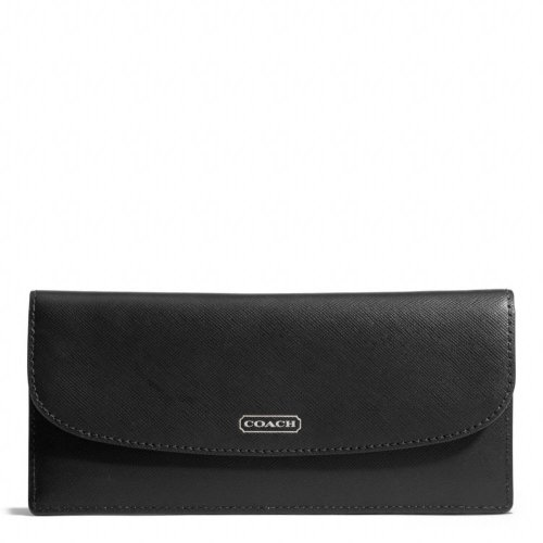 Coach   Coach Darcy Leather Soft Wallet F50428