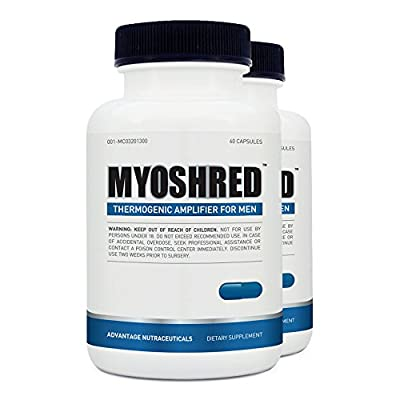 Myoshred - Top Diet Pill for Men - Best All Natural Supplement to Build Muscles - Gain Muscle Fast and Maximize Your Workout