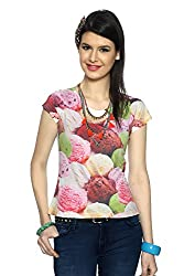 Candies by Pantaloons Women's T-Shirt_Size_S