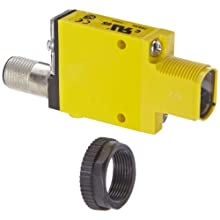 Banner SM312DQD Mini Beam DC Photoelectric Sensor, Diffuse Mode, 4-Pin European QD Termination, 380mm Sensing Range