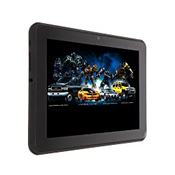 iRulu 7 Inch Android 4.1 Jelly Bean 5 Points Capacitive Multi-Touchscreen Widescreen 8GB Internet Tablet 1.6GHz RK3066 Dual Core CPU and Mali-400 MP GPU 1GB DDR3 RAM WIFI 3G HDMI With OTG Cable