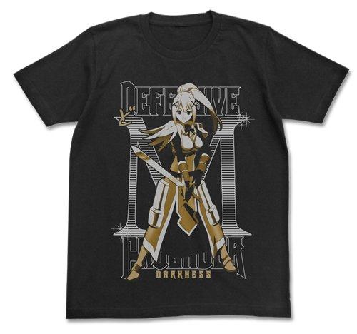 この素晴らしい世界に祝福を! クルセイダー ダクネス Tシャツ ブラック Mサイズ