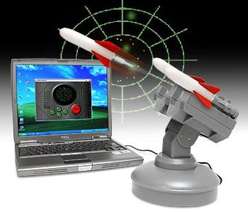 USB Missile Launcher - Computer-controlled Desktop Rocket Launcher