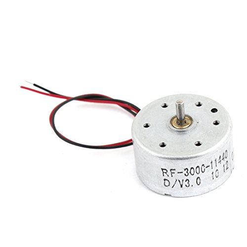 1700-7300Rpm 1.5-6.5V High Torque Cylinder Electric Mini Dc Motor