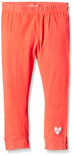 NAME IT nitFABIA M LEGGING 116 GER-leggings Bambina    Arancione (Fiere Corallo ) 110
