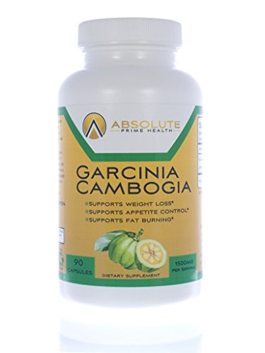 Garcinia Cambogia - Absolute Prime Health - Pure Garcinia Supplement - 90 Capsules - 1500mg - Supports Appetite Control – Supports Fat Burning – Supports Weight Loss