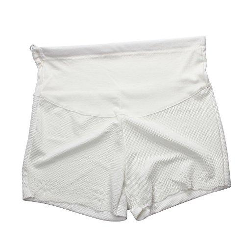 White Maternity Shorts Pants for Pregnant Women Size XL