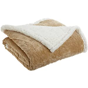 Northpoint Cuddly Regal Microsherpa Throw