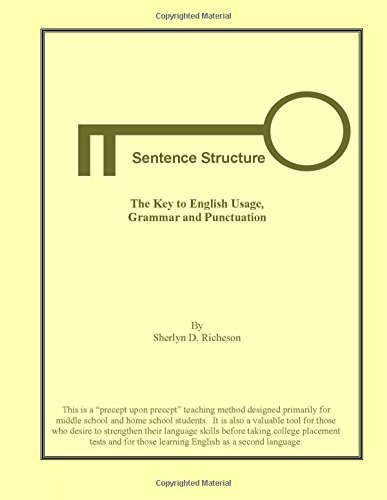 Sentence Structure The Key To English Usage  Grammar And Punctuation