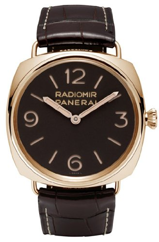 Panerai Radiomir 3 Days Ora Rosa Brown Dial Mechanical Mens Watch PAM00379