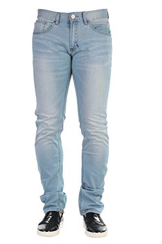 SUN68 Uomo Pantaloni Jeans Primavera Estate Blu Denim Art 16182 L81 P16