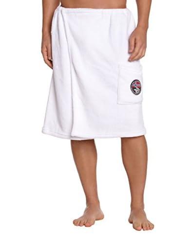 Nebulus Asciugamano Saunakilt Towel [Bianco]