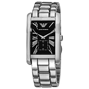 Amazon.com: Emporio Armani Men's AR0156 Stainless Steel Watch: Emporio