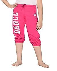 Punkster Rani Pink Capri For Girls