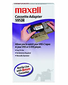 Maxell Cassette Vhs C Adapter 290060 Amazon In Car