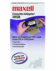 Maxell Cassette VHS-C Adapter (290060)