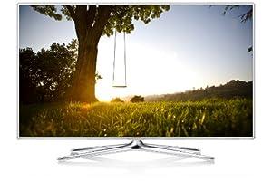 Samsung UE32F6510 81 cm (32 Zoll) 3D-LED-Backlight-Fernseher (Full HD, 400Hz CMR, DVB-T/C/S2, CI+, WLAN, Smart TV, HbbTV, Sprachsteuerung) hochglanz-weiß