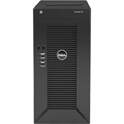 Dell PowerEdge T20 tower Server System /Intel Xeon E3-1225 v3 3.2GHz Quad Core CPU / 4GB Memory / 1TB Hard Drive / DVDRW Drive / No Operating System
