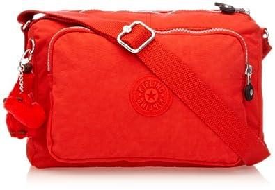 Kipling Women's Reth Shoulder Bag K1296910P Cardinal Red