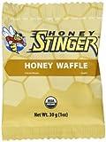 Honey Stinger Organic Waffles, Honey, 1-Ounce Packages (Pack of 16)