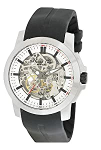 Kenneth Cole New York Men's KC1852 Automatic Automatic Black Silicone Strap Watch